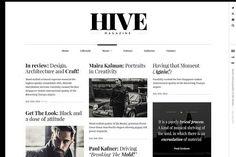 HIVE - A Magazine-Style Theme by PixelGrade on @creativemarket