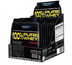 O 100% Pure Whey da Probiótica é um suplemento protéico ideal para você que tem o dia corrido, podendo ser levado facilmente em qualquer lugar. Sua fórmula contém alta concentração de aminoácidos essenciais, principalmente BCAA's (Aminoácidos de cadeia ramificada)