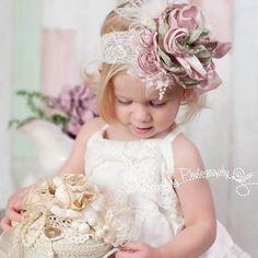Kız Bebek Saç Bandı Modelleri 82