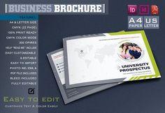 Best College University Prospectus Brochu CreativeWork247 - Fonts, Graphics...