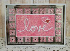 Ann Greenspan's Crafts: Silver and Pink Love