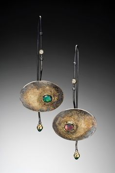 Jenny Reeves.  Big time want.  Also, another pair of earrings that would be fantastic for larger gauged piercings......