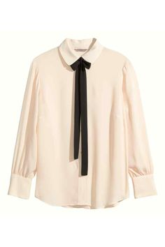 H&M+ Blouse avec cravate | H&M
