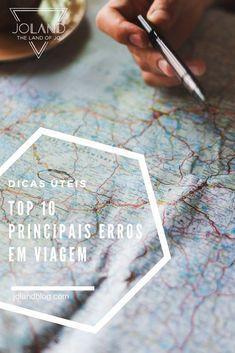 Um artigo com um Top 10 dos principais erros em viagem para te ajudar a evitá-los no futuro!