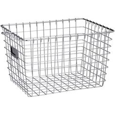 Industrial Gray Storage Basket from Spectrum