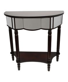 Look what I found on #zulily! Mirrored Console Table #zulilyfinds