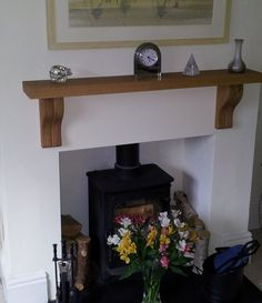 """""""Excellent customer service and a quality product from Oak Fire Surrounds. Many thanks."""" - Mr Edmunds"""