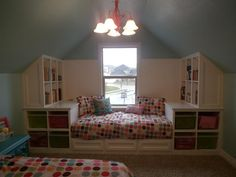Over 50 Different  Attic Design Ideas. http://www.pinterest.com/njestates1/attic-design-ideas/ …