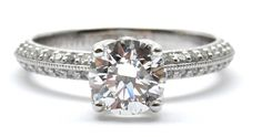 Sharp Edge sides on this Ring... #wedding #weddingring#diamonds #engagementring#engagement #ring #pretty #diamondring#diamonds #diamondlife #sayyes #ido #love #flawless #bridal#bride #theknot #engaged #vancouverdiamonds #howmuch #fashion #fashionista #highfashion #jewelry#couture #bespoke #boutique #Vancouver