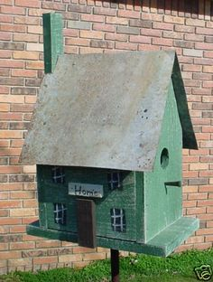 Wooden Creations Wc 715 Fiddle Birdhouse Wood Craft