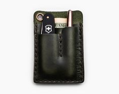 Green EDC Card Caddy