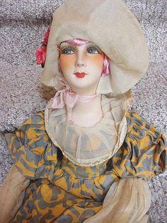 French boudoir doll