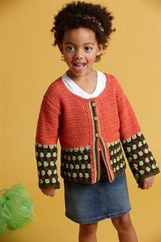 Zoe Cardigan : Crochet Pattern