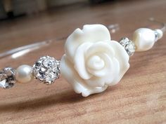Sara Wedding Headband - great for bridesmaids
