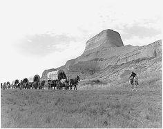 Independence, Missouri...beginning point for west-bound wagon trains...