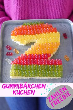 Construction cake for the birthday. - Kindergeburtstag Kuchen I Ideen I Motto - Birthday Cakes For Men, Boy Birthday, Gummy Bear Cakes, Gummy Bears, Hanging Balloons, Cake Simple, Number Cakes, Cakes For Women, Cake Photography
