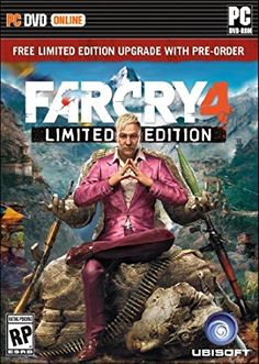 Far Cry 4 -- Limited Edition (Sony PlayStation for sale online Far Cry 4, Fps Games, Xbox One Games, Playstation Games, Mortal Kombat, Assassins Creed, Killzone Shadow Fall, Latest Video Games, Game Codes