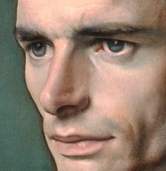 Pietro Annigoni - Detail of portrait