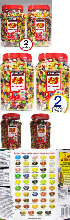 Jelly Beans 166723: 2 X 4 Lb Original Jelly Belly Beans 49 Flavors Assorted Jar Kirkland Total 8 Lb -> BUY IT NOW ONLY: $40.89 on eBay!