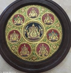 Tanjore Painting, And Just Like That, Old World Charm, Gift Store, Carat Gold, Colour Schemes, Indian Art, Beautiful Paintings, Traditional Art