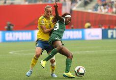 Kosovare Asllani Sweden vs Nigeria