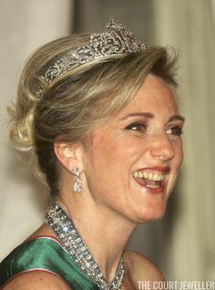 Princess Astrid wears the Savoy-Aosta Tiara