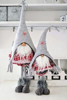 Yule style!! Noel Christmas Natal!! Gnomes for every home!! Make it and Take it!! Wonderful Host and Hostess gifts!!