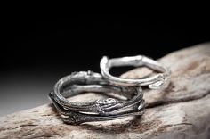 elvish sterling silver rings.
