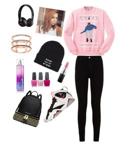 """""""Untitled #83"""" by christianabossbitch47 ❤ liked on Polyvore featuring beauty, 7 For All Mankind, Retrò, Beats by Dr. Dre, Vans, EF Collection, MICHAEL Michael Kors, OPI and MAC Cosmetics"""