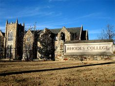 Rhodes College Memphis beautiful campus, but very few buildings when we were there in the 50's.