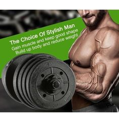 Gym Barbell Plates Weight Dumbbell Set