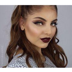 But my fall makeup look is finally u..
