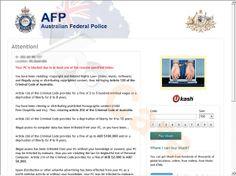 Australian Federal Police Ukash Virus Scam