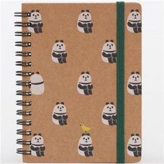 funny-brown-panda-sitting-animal-ring-binder-notebook-from-Japan-0