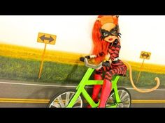 ▶ How to Make a Doll Bicycle - YouTube