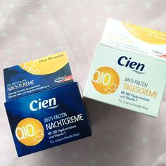 Lidl's Cien Q10 Night Cream and Day Cream are both super affordable (at about £2.99 each) and effective, but unfortunately they're only available in store.