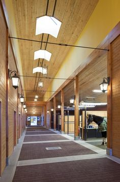 Stable Style: Riverlands Equestrian Facility by GH2 Gralla Equine Architects featured on Horses & Heels