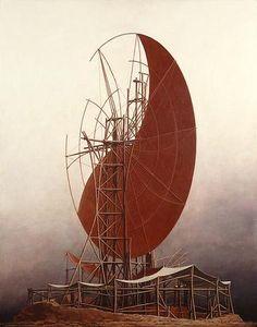 """Paintings / """"Kuu"""", 2003   Minoru Nomata"""
