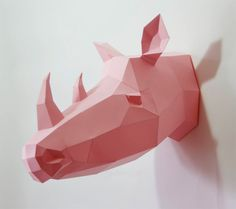 Los geométricos animales de papel de Wolfram Kampffmeyer | TodoGraphicDesign