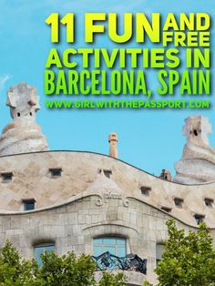 There are so many things to do in #barcelona #spain and sites to see in Barcelona Spain that planning a trip to Barcelona Spain can be difficult. These free attractions in Barcelona Spain are #budget friendly and great for #backpackers who need cheap things to see and do in Barcelona Spain.