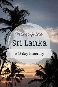 "When I set my sights on visiting Sri Lanka, the first question I got was ""Why Sri Lanka?"". It may seem like an unusual place to visit but if you take a moment to look into what the country has to offer you will see it is a really great holiday destination. While deciding on our next holiday, Dean and I were hit with so many options and so many places in Asia we wanted to see, Indonesia, Vietnam, Malaysia, the Philippines, the list is endless. But having experienced an abrupt holiday i..."