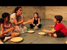 BAILANDO CON GLOBOS  - Método Dalcroze - 1 - YouTube