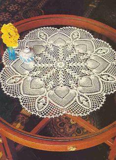 """Patrón #164: Tapete """"Flores y Capullos"""" a Crochet #ctejidas http://blgs.co/kFG6Y2"""