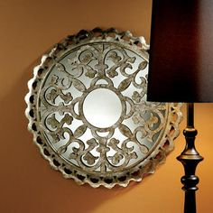 Fleur de Lis Metal Filigree Wall Mirror - Discover home design ideas, furniture, browse photos and plan projects at HG Design Ideas - connecting homeowners with the latest trends in home design & remodeling Wall Mounted Mirror, Wall Mirror, Mirrors, Wall Decor Design, Hidden Rooms, Floor Mirror, Elegant Homes, Wall Sculptures, Home Decor Inspiration