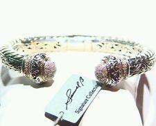 New Bjc Samuel B Behnam Sterling Silver Designer Charm Bracelet 925 Sale Price Fine Jewelry