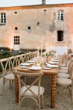 Elegant summer wedding at a Chateau in Dordogne, France | Dordogne Real Wedding