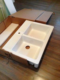 Ikea farm house sink