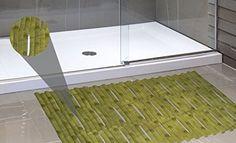Royal Bath Non Slip Bamboo Style DEHP Free Vinyl Bath Mat 16 x 32  Green -- Visit the image link more details. #XmasBath
