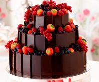 Cakes | Wedding Suppliers UK | Chocolate | Strawberries Cake | Friut Cake | Blueberries | Wedding Cakes
