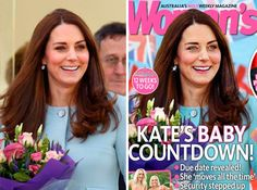 Kate gets egregiously Photoshopped! Tom Hanks, Reese Witherspoon, Oprah Winfrey, Nicole Kidman, Celebrity Gossip, Celebrity News, Baby Countdown, Kate Baby, Photoshop